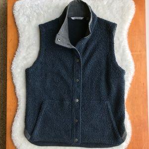 Toad&Co.Sheridan Sherpa Blue/Teal Vest Size - Sm